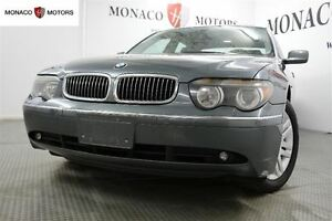 2003 BMW 7 Series 745LI LWB NAV BLUETOOTH LUXURY PKG
