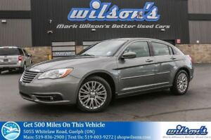 2012 Chrysler 200 TOURING NAVIGATION! SUNROOF! HEATED SEATS! POW