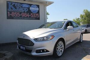2013 Ford Fusion Titanium LEATHER NAV SUNROOF