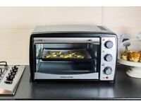 Andrew James 20 Ltr Black Convection Mini Oven And Grill