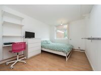 **EXTRA LARGE quite room. 3 min tube Central line. Quite, clean apartment.**