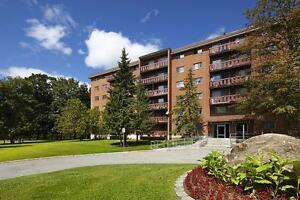 Appartement 2 chambre à louer à Hull avec balcon : Gatineau, Q