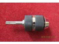 Keyless SDS rotary chuck