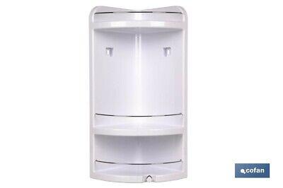 Rinconera estanteria de ducha cofan modelo estrella para artículos de baño