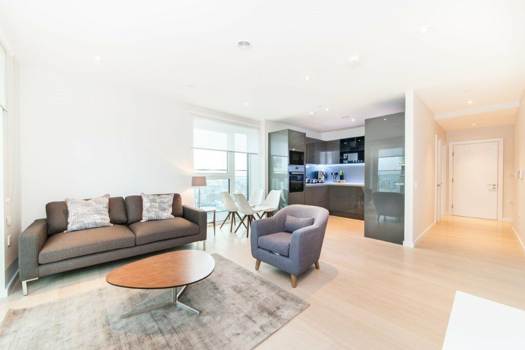 LUXURY NEW 2 BED 2 BATH GLASSHOUSE GARDENS E20 STRATFORD CANARY WHARF BOW WESTFIELD PUDDING LANE