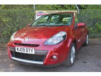 Renault Clio 1.6 Initiale 5DR Auto (ruby red) 2009