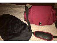 Berry Red EGG changing Bag