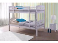 New Shining stylish wooden bunk bed frame Brand New /// Same Day Express Delivery London And Kent///