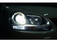 VOLKSWAGEN POLO GOLF MK4 MK5 MK6 MK7 HID XENON LIGHT UPGRADE CANBUS COMPATIBLE FULLY FITTED