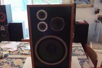 2 Haut-parleurs de qualité vintage Coral Speakers