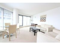 One bedroom flat near Canary Wharf with gym access, pool, balcony, 24hr porter, furn or unfurn