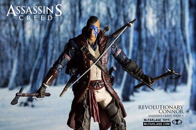 McFARLANE ASSASSINS CREED SERIE 5 -  REVOLUTIONARY CONNOR - FIGUR  - NEU & OVP (Assassins Creed Figur Mcfarlane)