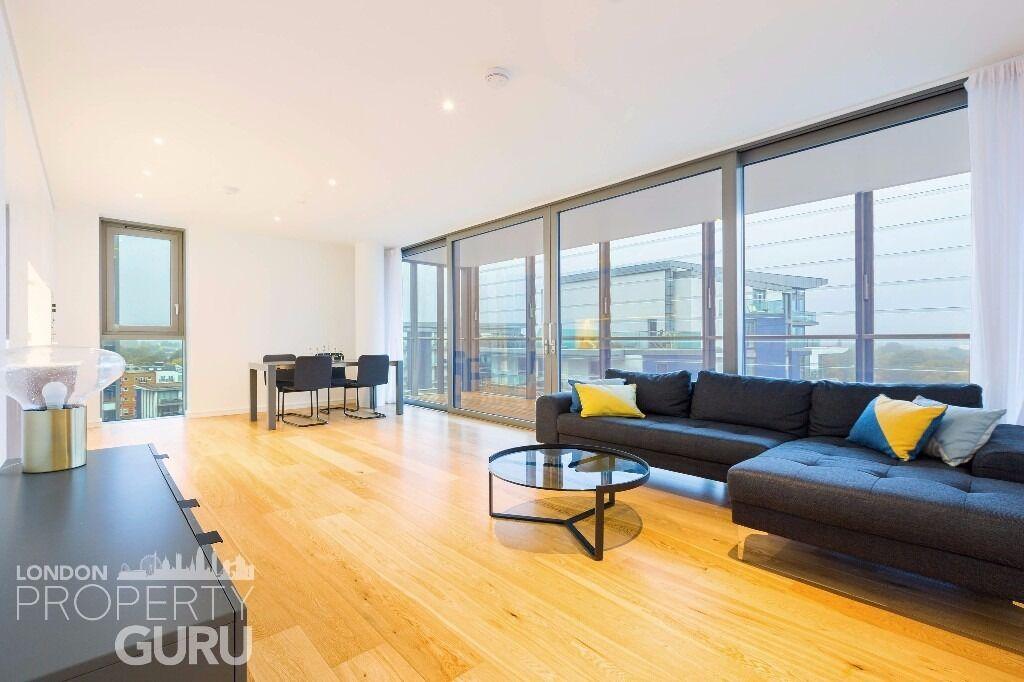 2 double bed 2 bath w balcony - Riverside - Wandsworth SW18