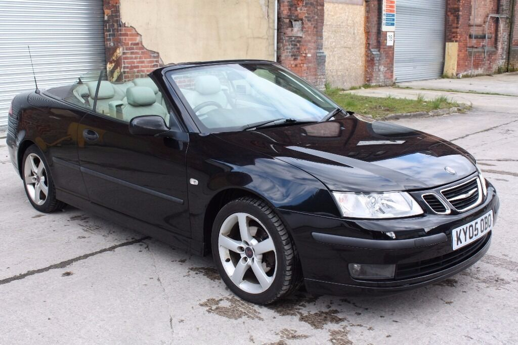 2005 saab 9 3 vector convertible 1 8t petrol mot full. Black Bedroom Furniture Sets. Home Design Ideas