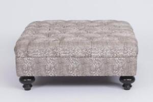 CANADIAN MADE FABRIC 505 MODERN TUFTED BELSIZE OTTOMAN (BF-229)