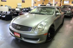 2006 Infiniti G35 SPORT PKG LEATHER SUNROOF SPOILER 19ALLOYS