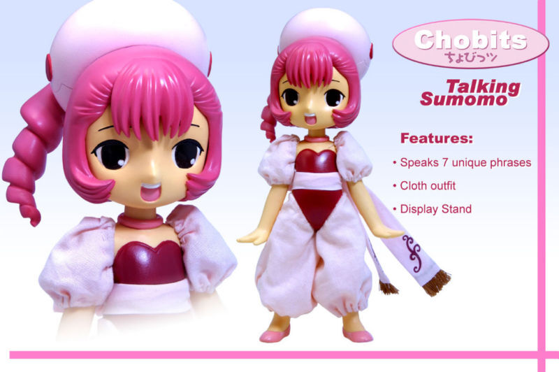 Chobits Sumomo Talking Figure -MIB