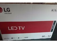 "LG 32 "" BRAND NEW STILL IN SEALED BOX"