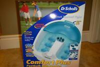 Dr. Scholl's Comfort Plus Footbath with Bubbles and Massage