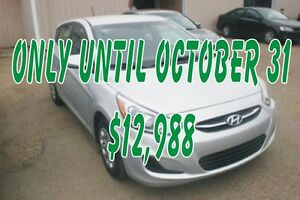2016 Hyundai Accent GL HATCHBACK AUTO, HEATED SEATS