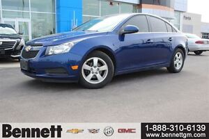 2013 Chevrolet Cruze LT Turbo - Leather, Remote Start, Heated Se