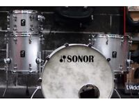 Sonor Prolite drum kit in Silver Sparkle - 4-Piece Shell Pack