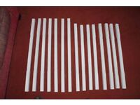 STOP CHAMFERED STAIRCASE SPINDLES - White primed