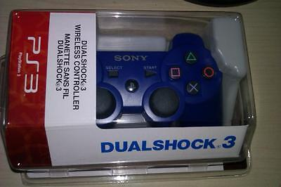 New Six Axis DualShock 3 Wireless  Controller for Sony PS3  blue on Rummage