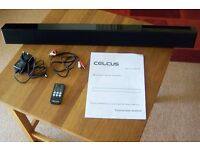 "CELCUS Bluetooth Sterio Sound Bar "" As new, never used but no box"""