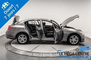 2013 Infiniti G37X Premium *réservé* AWD, TOIT, CUIR, BANCS CHAU