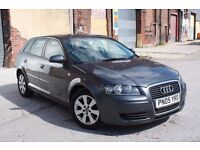 2005 AUDI A3 2.0 SE TDI, 187BHP, DIESEL, 6 SPEED MANUAL, 5 DOORS, NEEDS SOME TLC, P/X TO CLEAR!!!