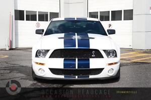 2008 Ford Mustang SHELBY GT500 V8 - INTÉRIEUR EN CUIR - BAS MILL