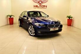 BMW 5 SERIES 2.0 520d SE 4dr + BLUETOOTH + LEATHERS + P SENSORS (blue) 2012
