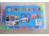 Loom Starz Rubber Band Bracelet Making Kit plus 3 x new packs
