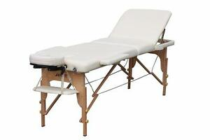 "Table de massage 28""  3 sections PORTABLE"