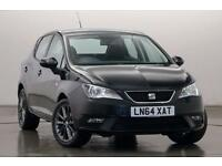 Seat Ibiza 1.2 TSI I Tech 5Dr Hatchback (black) 2014