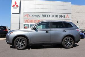 2015 Mitsubishi Outlander GT*CUIR+TOIT+NAVI+S-AWC*COMME NEUF*