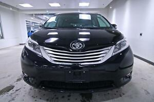 2015 Toyota Sienna LIMITED, AWD, DVD, NAV, ROOF, LEATHER, ONE OW