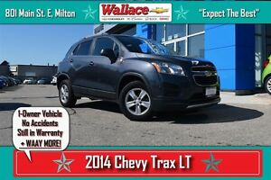 2014 Chevrolet Trax 1LT/1-OWNER/NO ACCIDENTS/AC/WARRANTY/CRUISE/