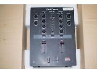 Dj-Tech scratch mixer (with slight fault read description)