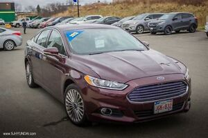 2013 Ford Fusion Titanium! LOADED!LEATHER! AWD! NAV! $129B/W
