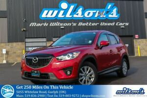 2015 Mazda CX-5 GS SUV! SUNROOF! REAR CAMERA! HEATED SEATS! PUSH