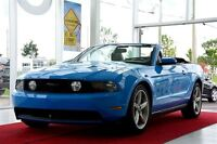 2010 Ford Mustang GT CONVERTIBLE A/C MAGS CUIR AUTOMATIQUE CRUIS