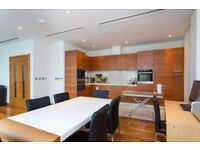 WOW! 3B WITH 2 PRIVATE TERRACE, FURNISHED IN CHELSEA BRIDGE WHARF, HAWKER BUILDING, BATTERSEA D7