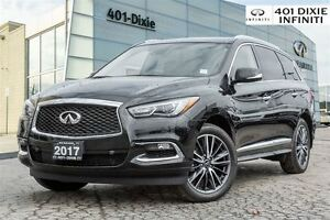 2017 Infiniti QX60 AWD, Technology Pkg! TV/DVD / Navi and Blind