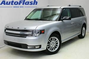 2013 Ford Flex SEL AWD *7 PASS*Cuir/Leather*Toit-Ouvrant/Sunroof