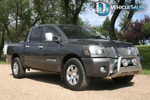 2007 Nissan Titan LE, 4X4, MOONROOF, LEATHER