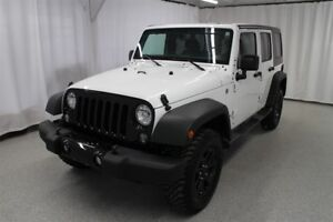 2016 Jeep WRANGLER UNLIMITED SPORT*2 TOITS*MAGS*A/C*4X4*