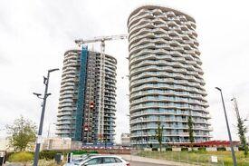 Brand New! Hoola Building, E16. 1bed 1bath. Royal Victoria, Docklands, Excel, Canary Wharf.
