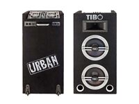TIBO Urban 500 Wireless DJ Mixing Desk with Built-in Speakers and light